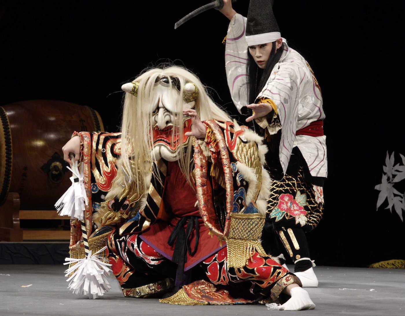 nakakawado kagura troupe - tsuchigumo